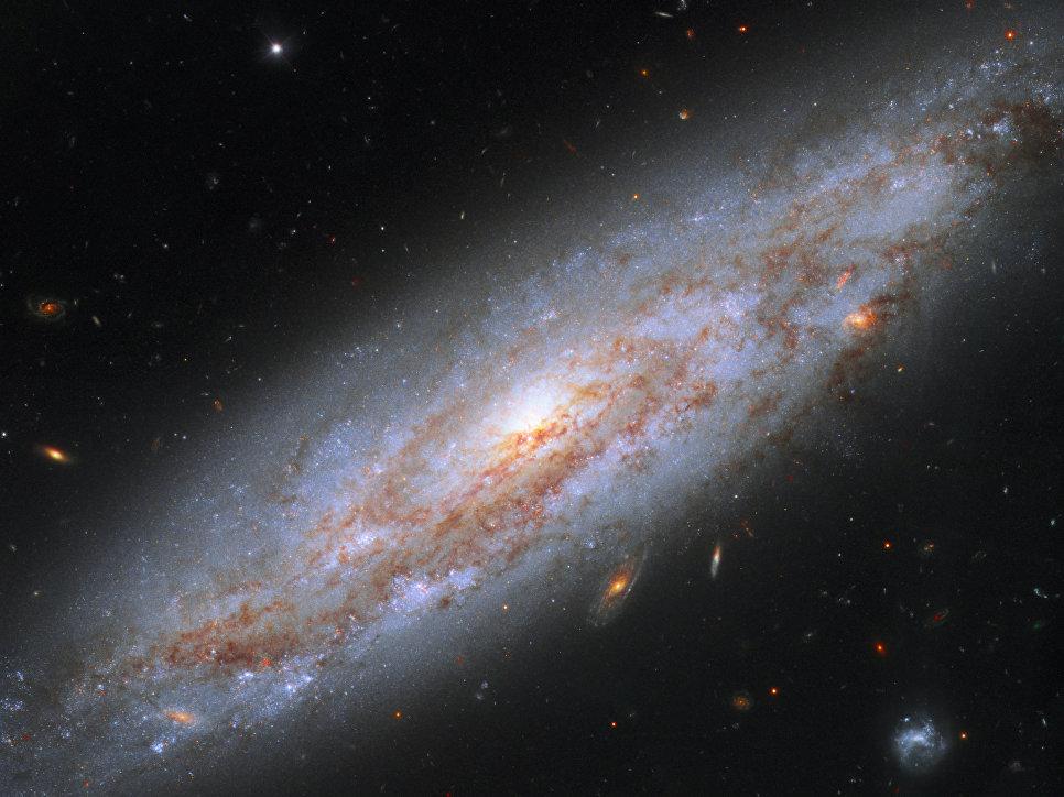Галактика NGC 3972 в созвездии Большой Медведицы