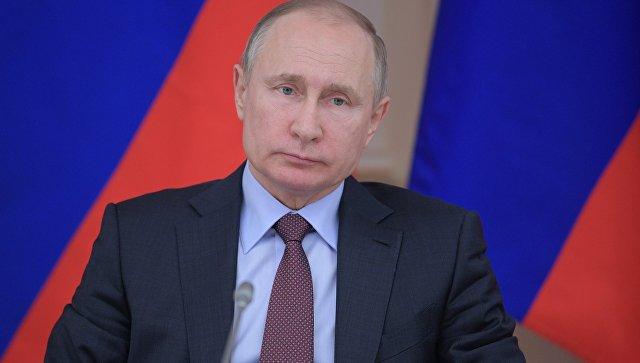 Владимир Путин. 6 марта 2018