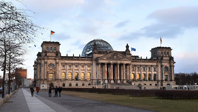 Германский бундестаг в Берлине. Архивное фото