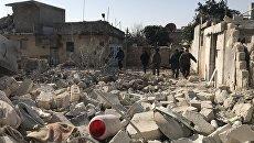Последствия артобстрелов в Сирии. Архивное фото