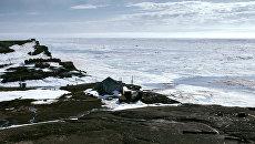 Бывшая полярная станция Остров Уединение в Карском море. Архивное фото