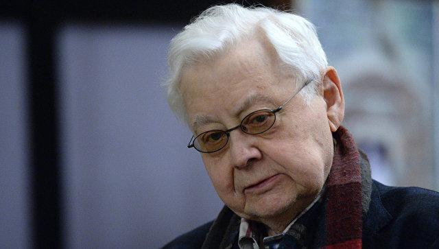 Художественный руководитель МХТ имени А.П. Чехова Олег Табаков