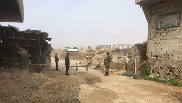 Восточная Гута, Сирия. Архивное фото