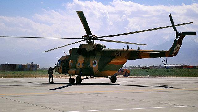Вертолет Ми-17 ВВС Афганистана. Архивное фото
