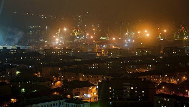 Города России. Мурманск. Архивное фото