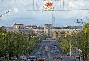 Центральный проспект города Минска