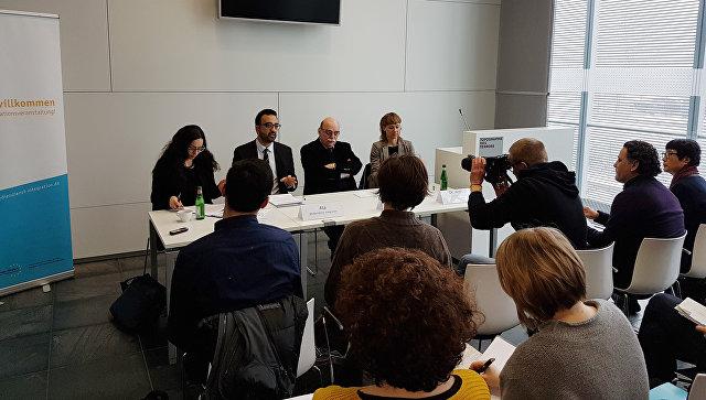 Круглый стол Есть ли новый антисемитизм в центре Топография террора в Берлине