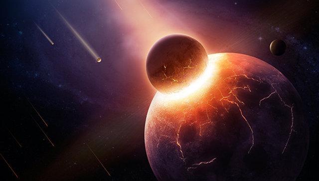 Жизнь зародилась сразу после столкновения Земли и Тейи, прародительницы Луны