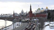 Московский Кремль и Кремлевская набережная. Архив
