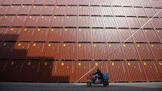 Транспортные контейнеры в порту Шанхая. Архивное фото
