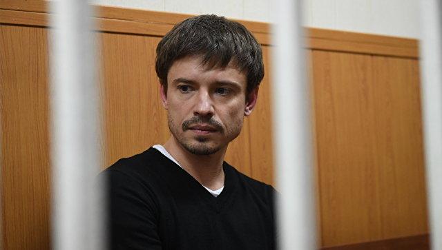 Экс-советник главы Ростех Николай Семенов в Гагаринском суде Москвы. 22 марта 2018