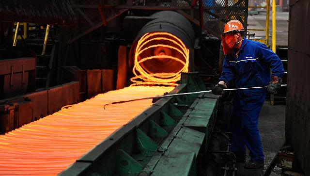 Cталелитейный завод в Китае