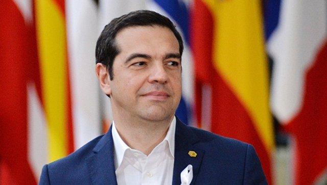 Премьер-министр Греции Алексис Ципрас на саммите ЕС в Брюсселе. 22 марта 2018