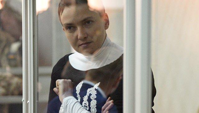 В Киеве арестовали Савченко на два месяца