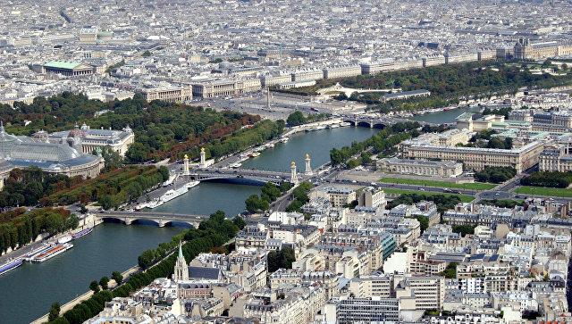 Вид Парижа. Архивное фото