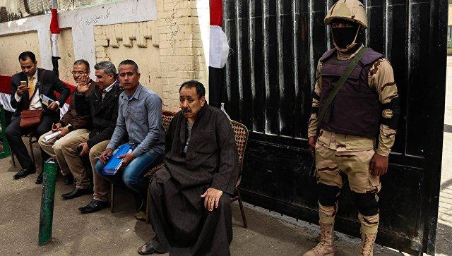 Граждан Египта, не пришедших на президентские выборы, оштрафуют