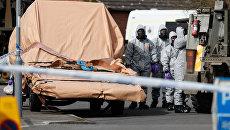 Британские военные в городе Гиллингем во время расследования отравления бывшего полковника ГРУ Сергея Скрипаля и его дочери