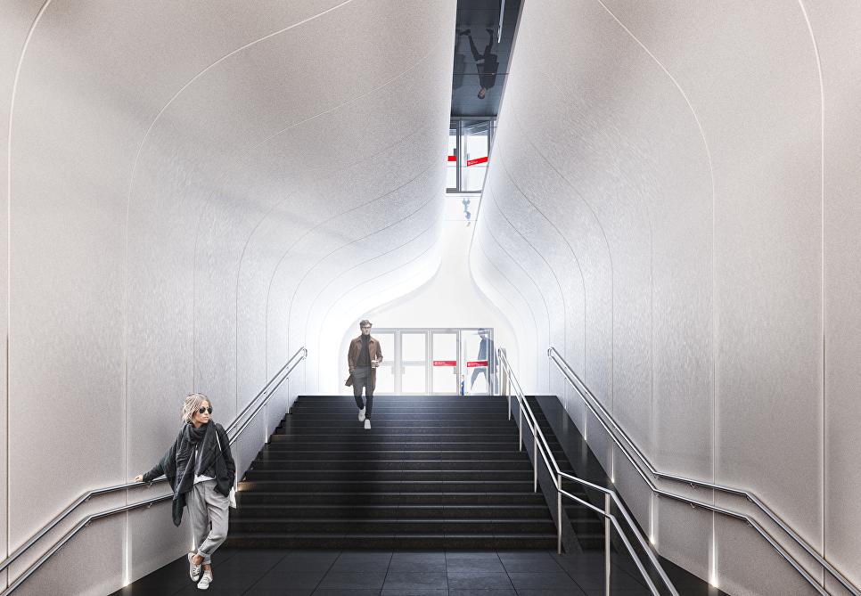 Проект станции метро Кленовый бульвар от архбюро Арх-Слон