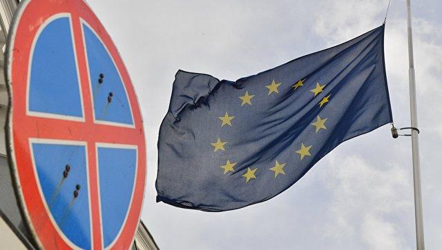 Флаг Европейского союза. Архивное фото