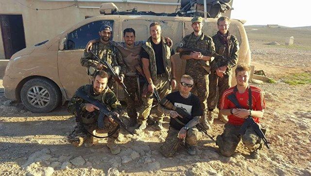 Сирийские курды. Архивное фото