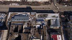 Вид на торгово-развлекательный центр Зимняя вишня в Кемерово. Архивное фото