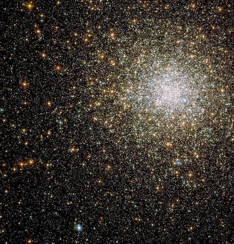 M62 - шаровое звездное скопление галактик в созвездии Змееносца