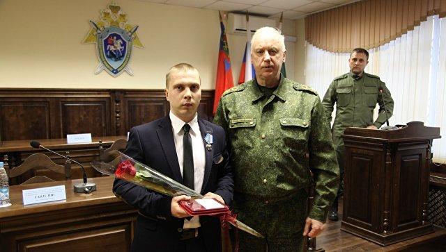 Бастрыкин наградил спасавших впожаре  гостей  «Зимней вишни»