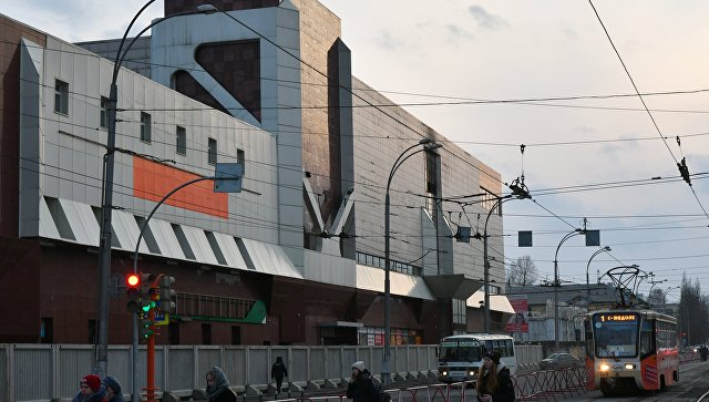 Здание торгово-развлекательного центра Зимняя вишня в Кемерово. Архивное фото