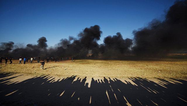 Размах беспорядков награнице ссектором Газа уменьшается — Минобороны Израиля