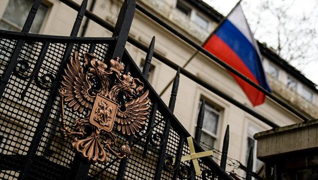 Здания российского посольства в Лондоне. Архивное фото