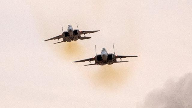 Истребители F-15 ВВС Израиля