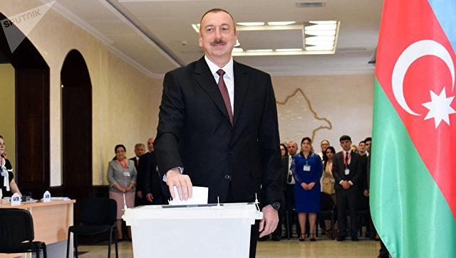 Алиев набирает 86% голосов на выборах в Азербайджане, по данным exit poll