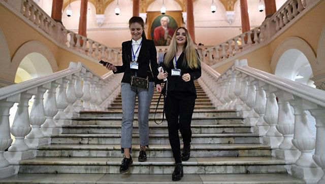 Факультет журналистики МГУ. Архивное фото