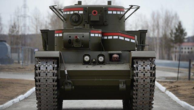 В Калужской области танк задавил каскадера на съемках фильма