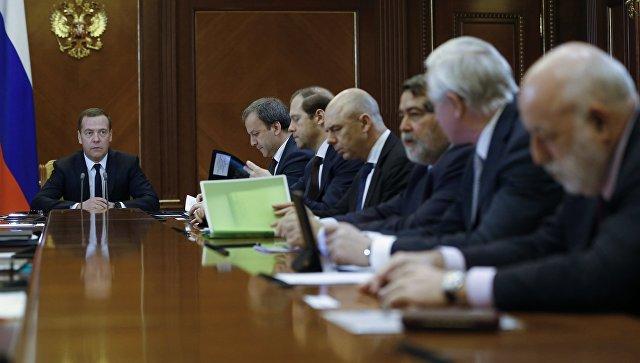 Дмитрий Медведев провел встречу с членами бюро правления Общероссийского объединения работодателей. Архивное фото