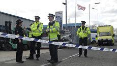Сотрудники английской полиции. Архивное фото