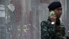 Военный в Таиланде. Архивное фото