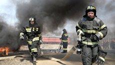 Пожарные расчеты. Архивное фото