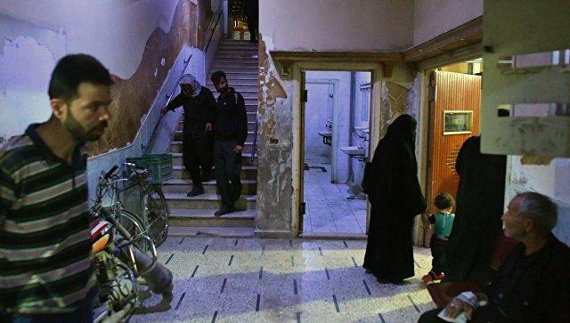 Пациенты больницы в Сирии. Архивное фото