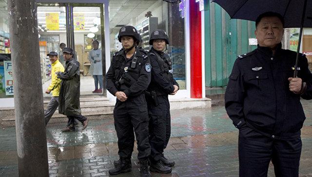 Вооруженная полиция в Китае. Архивное фото