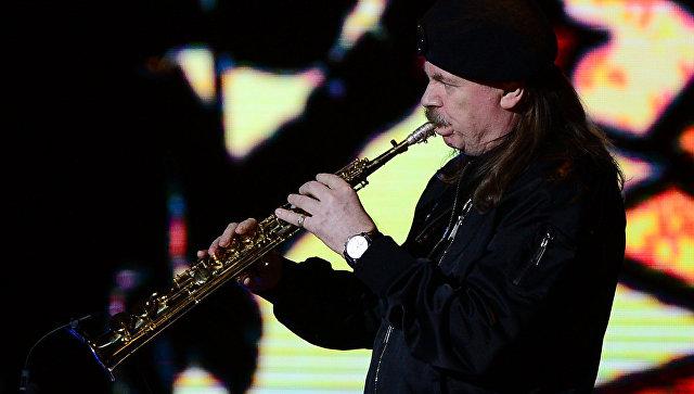 Музыкант Владимир Пресняков-старший