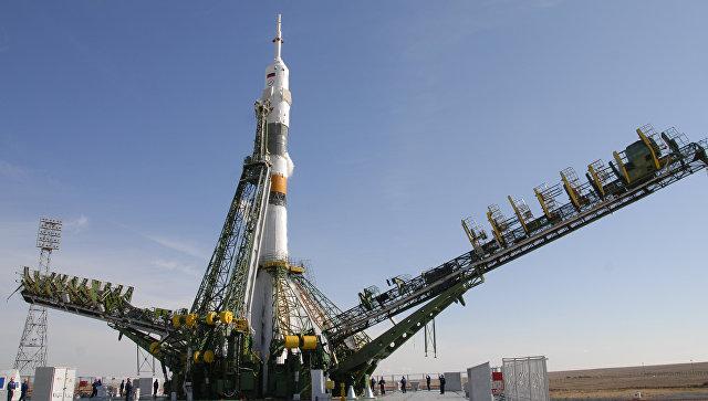 Запуск ракеты Союз-ФГ. Архивное фото