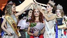 Победительница конкурса красоты Mrs&Ms Russia Earth 2018 Алиса Комарова