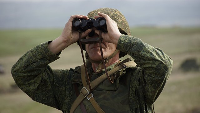 Военнослужащий Народной милиции ЛНР. Архивное фото