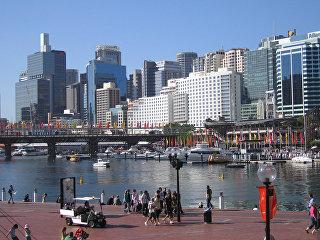 Вид австралийского города Сидней. Архивное фото