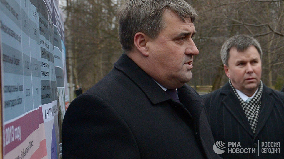 Глава Калининграда Алексей Силанов