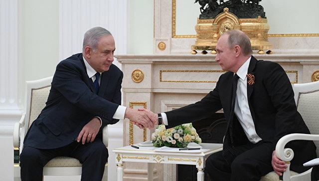 МИД Израиля: возможность встречи Нетаньяху и В.Путина  встолице франции  еще обсуждается