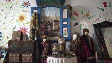 Экспонаты музея материальной культуры старообрядцев Забайкалья Элементы семейской старины в семейском селе Тарбагатай в Бурятии