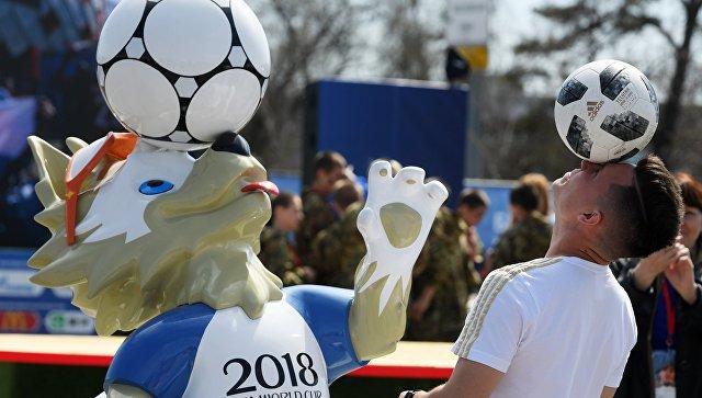 Открытие Парка футбола ЧМ-2018 в Казани. Архивное фото