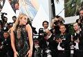 Мексиканская поп-певица и актриса Таллия Сторм на красной дорожке 71-го Каннского международного кинофестиваля